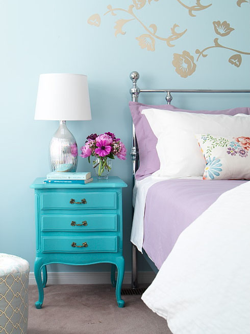 Purple And Turquoise Bedroom Ideas Architecture Homes Decoration