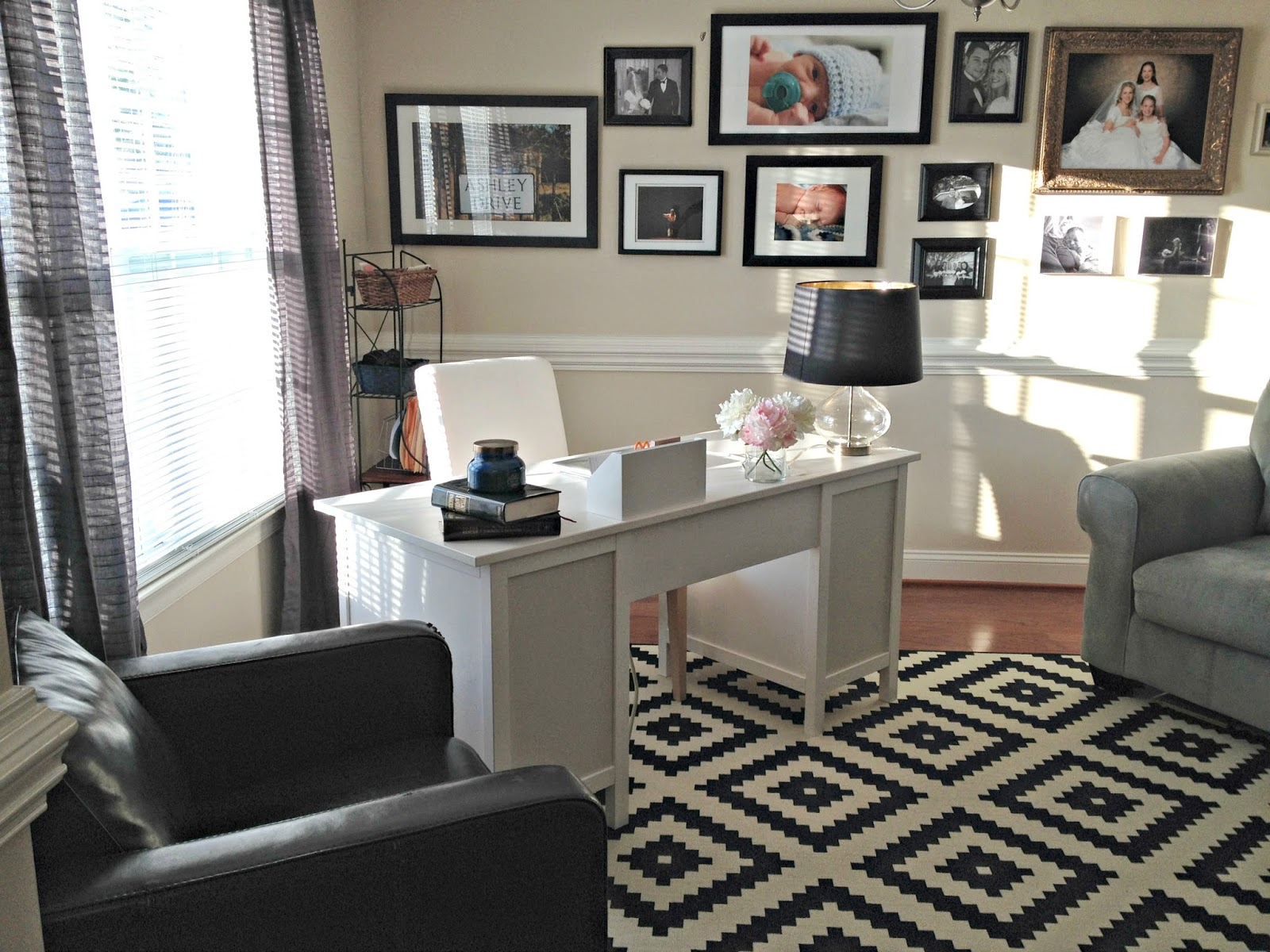 Dining Room Turned Office