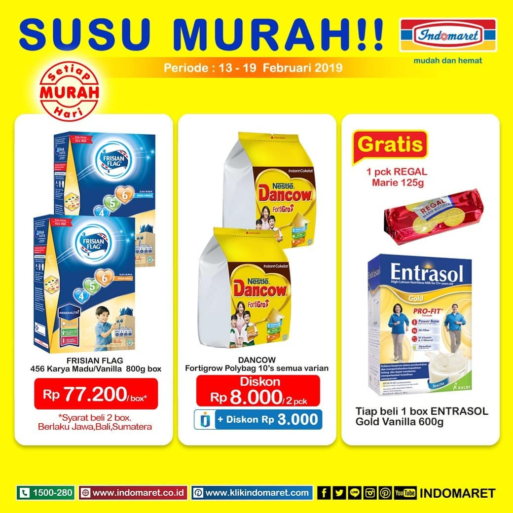 #Indomaret - #Promo Katalog Product Of the Week Periode 13 - 19 Feb 2019