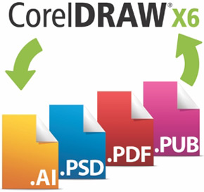 Corel Draw's File Formats