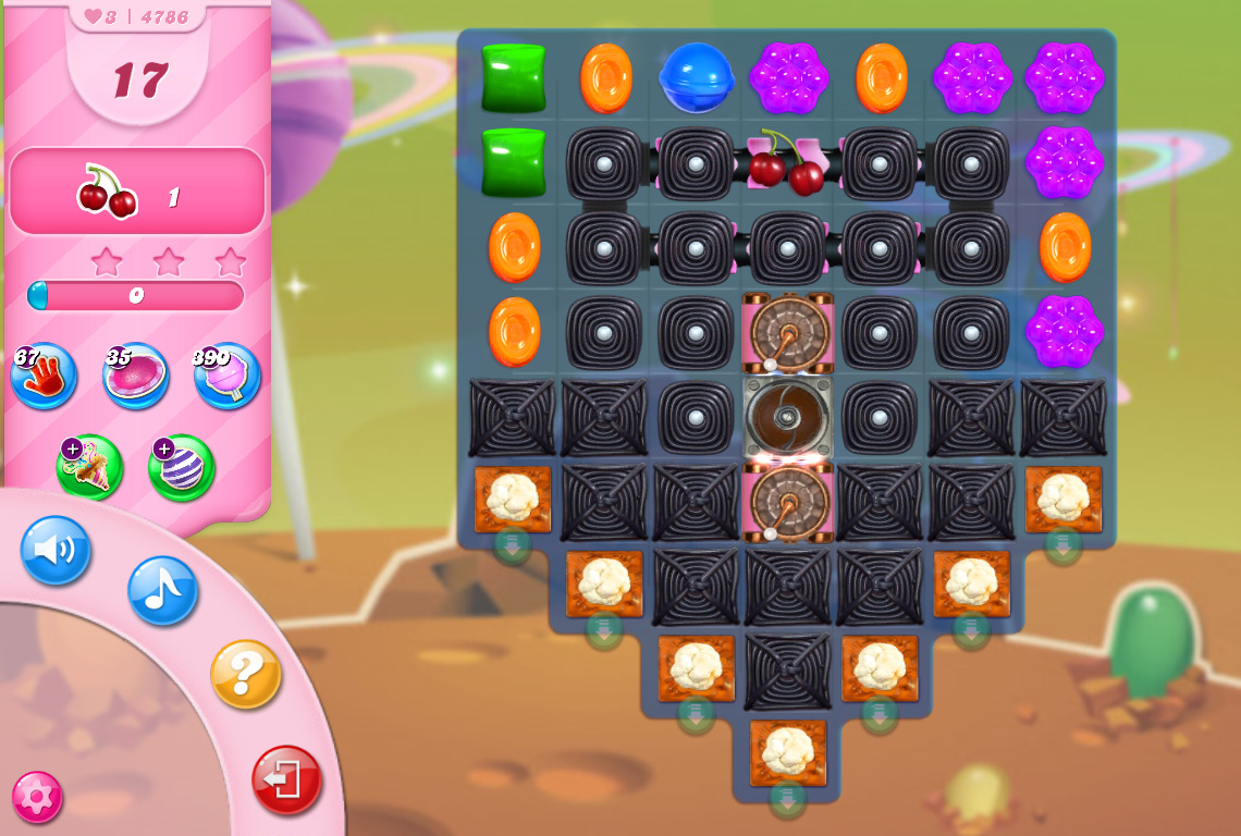 Candy Crush Saga level 4786