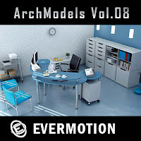 Evermotion Archmodels vol.08單體3dsMax模型合集第08期下載