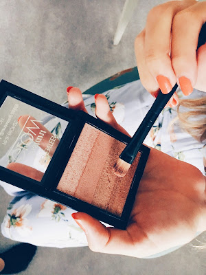 Achieving Bronzed, Glowing Makeup This Summer with Seventeen Cosmetics Eyeshadow
