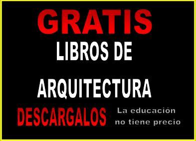 Descargar libros de arquitectura descarga libros de for Libro de dimensiones arquitectura