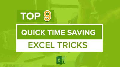 9 thủ thuật excel hay dành cho dân văn phòng