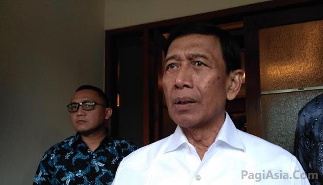 Wiranto : DPR Jangan Seenaknya, Temui Saya Dulu Sebelum Ketemu Jokowi