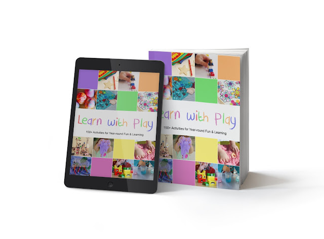 kids craft and activity book learn with play
