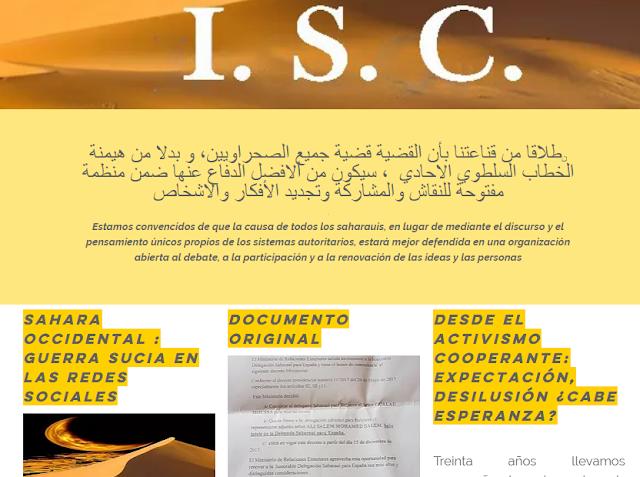 Sahara Occidental, la ISC pide la intervención del CSDH