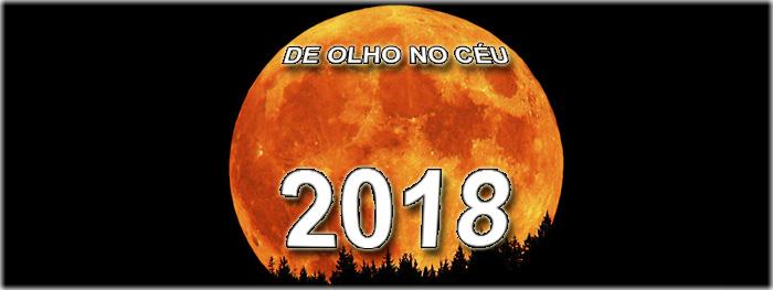 os principais eventos astronômicos para 2018