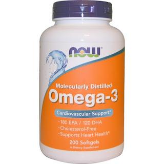 Suplementy Now Foods Omega-3 iherb kupon OWI469