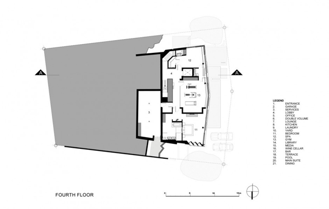 Illustration of the fourth floor