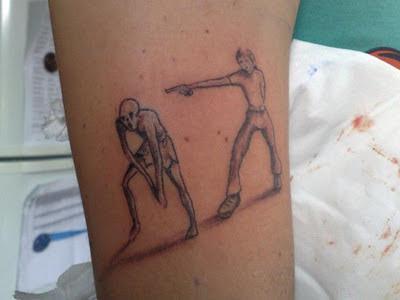 ZOMBIE SHOTS: un fan ci invia il suo tatuaggio
