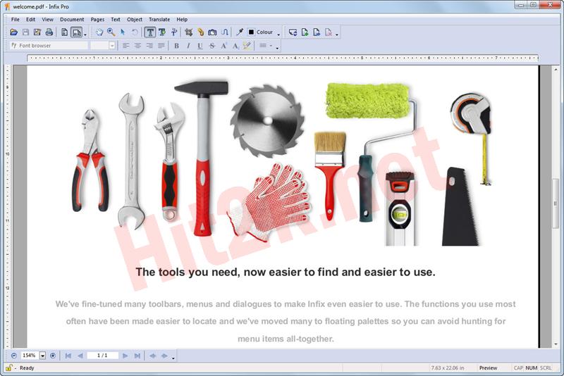 Infix PDF Editor Pro 7.3.1