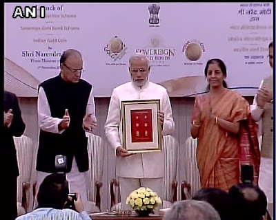 "Narendra Modi officially launched ""Gold Monetization Scheme"""