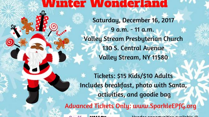 """Sparkle Presents """"Breakfast with Santa: Winter Wonderland"""""""