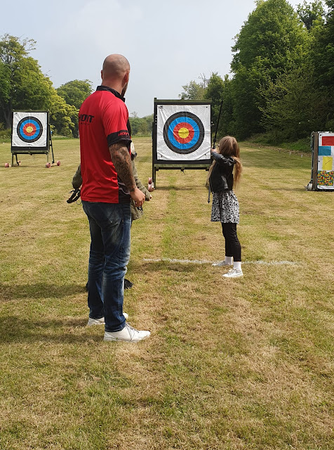 archery-practice-nine-year-old