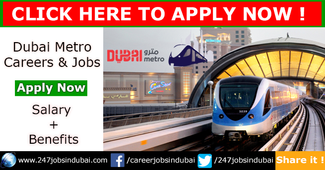 New Job Openings at Dubai Metro Jobs and Careers