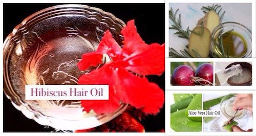 5 Homemade Hair Oils to Stop Hair Fall in 1 Week