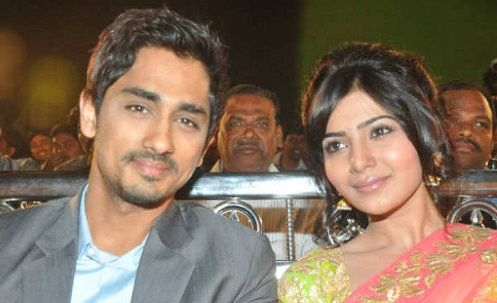Samantha dated Siddharth Suryanarayan