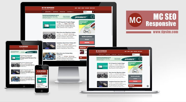 MC SEO Responsive Blogger Templates