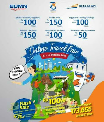Tiket Promo Online Travel Fair