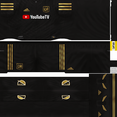 PES 6 Kits Los Angeles FC Season 2017/2018 by Dibu Edition