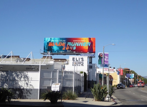 Blade Runner 2049 film billboard