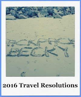 2016 Travel Resolutions