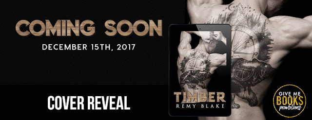 Cover Reveal: Timber by Remy Blake