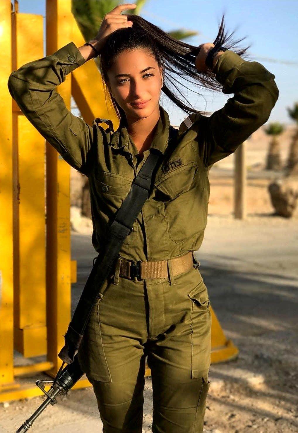 Amazing WTF Facts: Beautiful Israeli Military Women