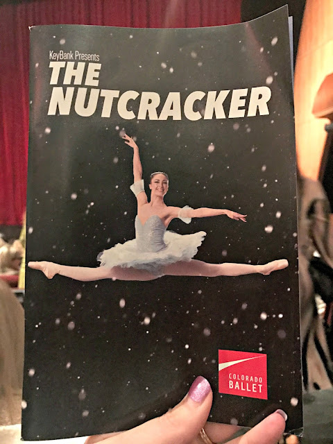 Colorado Ballet, The Nutcracker, discount code for colorado ballet nutcracker, ellie caulkins opera house, review of Colorado Ballet Nutcracker, taking a 3 year old to the ballet