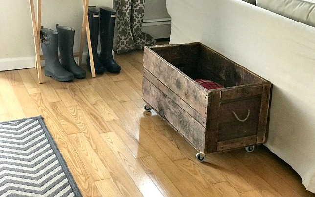 DIY Storage From an Antique Crate. Homeroad.net