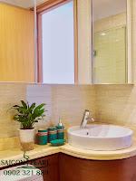 Thuê chung cư Saigon Pearl 2 phòng ngủ - lavabo chậu rửa tay