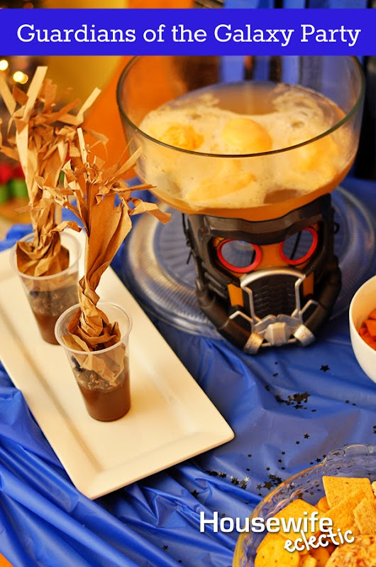 Housewife Eclectic: Guardians of the Galaxy Party