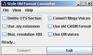 Convert Style Untuk Semua Tipe Keyboard Yamaha