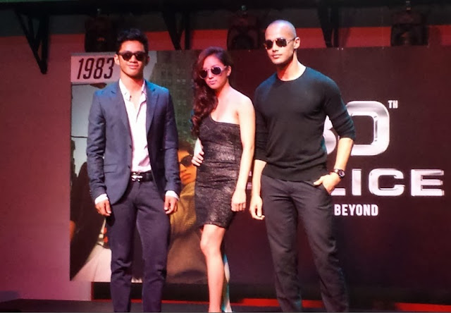 new ambassadors of Police Eyewear: Will Devaughn, Roxanne Barceló and David Guison
