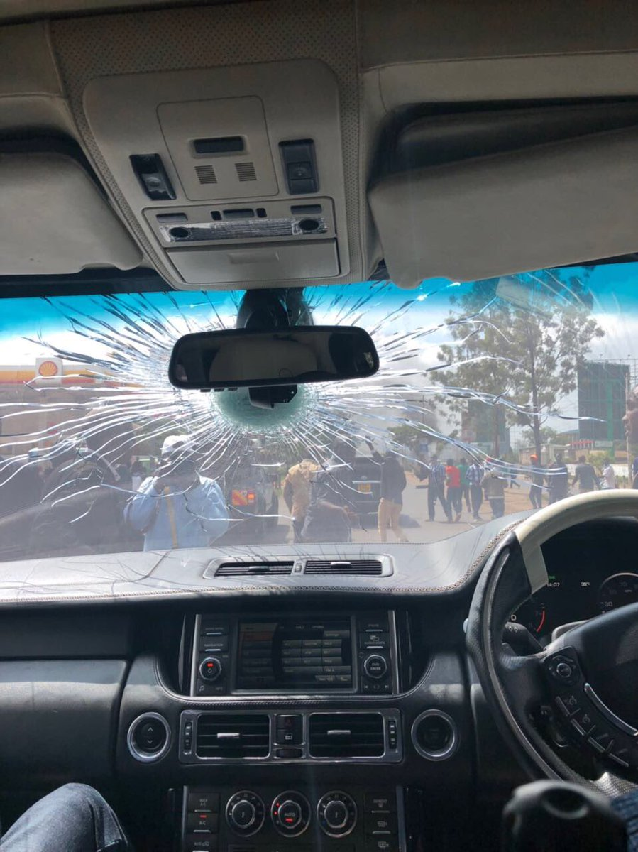 An Assassition Attempt On Raila Odinga JKIA NASA Kibera Killed