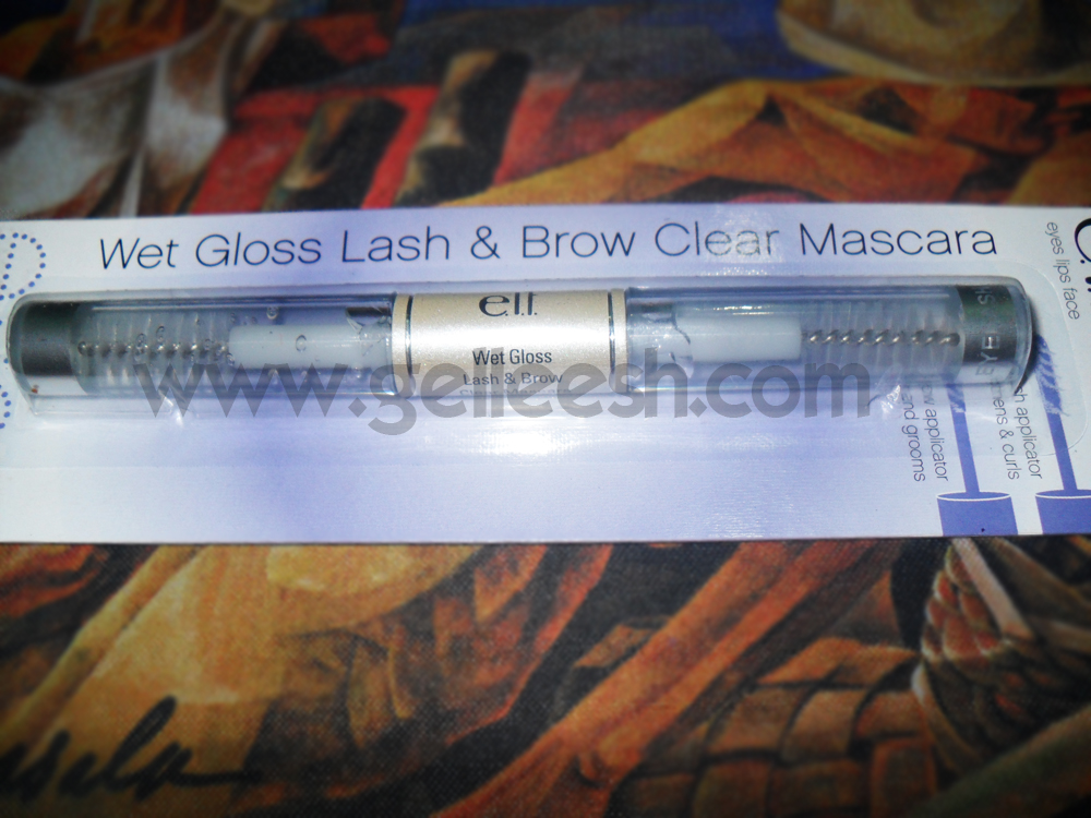 3cd8f736a25 Gelleesh: ELF Wet Gloss Lash & Brow Mascara