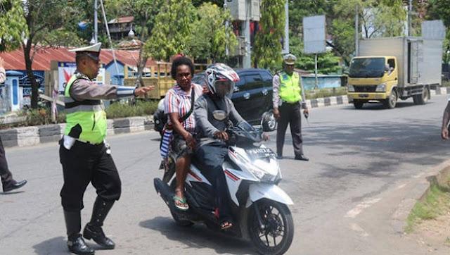33 kendaraan Kena Tilang dalam Operasi Zebra Matoa Polda Papua