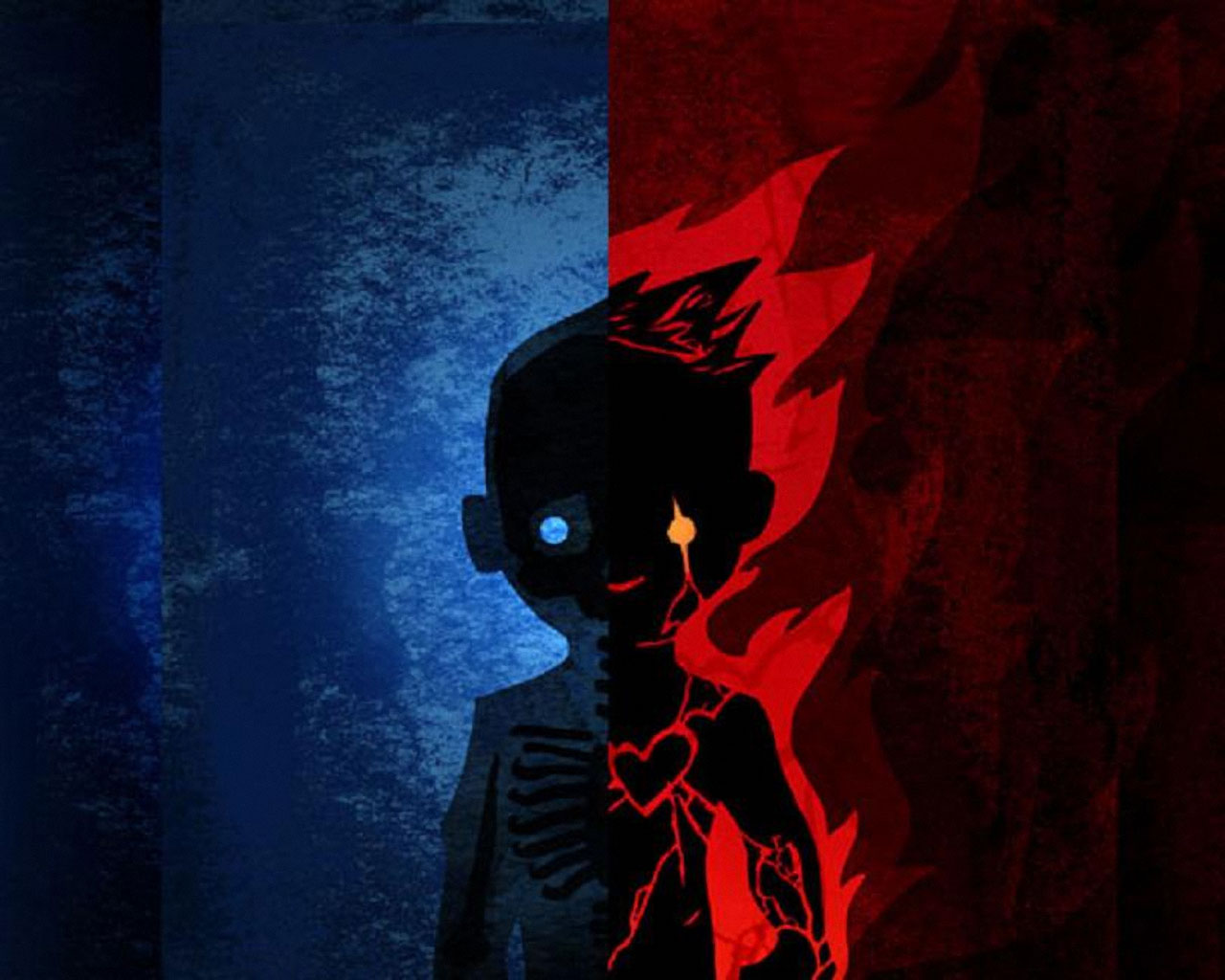 Hd Wallpapers Red Blue Boy