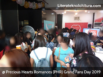 crowd of fans attending phr grand fans day 2019
