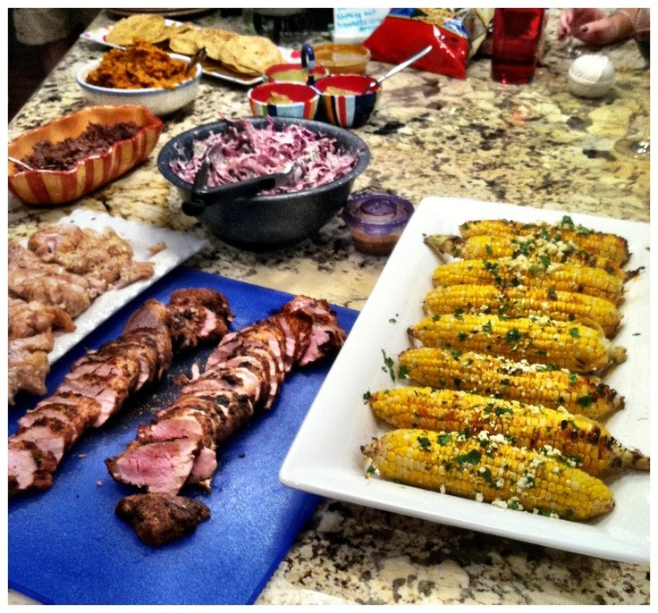 The Mexican BBQ Party Series: Sides