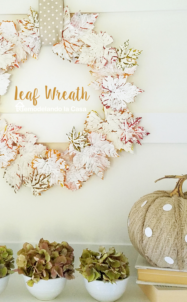 neutral fall decor - DIY - mantel