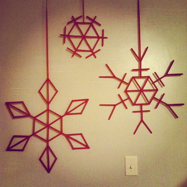 Do you have any other ideas of a shape or image that can be created from popsicle sticks to make a beautiful wall piece? & Be Still Life: Cheap and Easy Wall Art