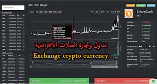 تبادل وتداول العملات الافتراضية Crypto currency  شرح التداول بمنصة  coinexchange