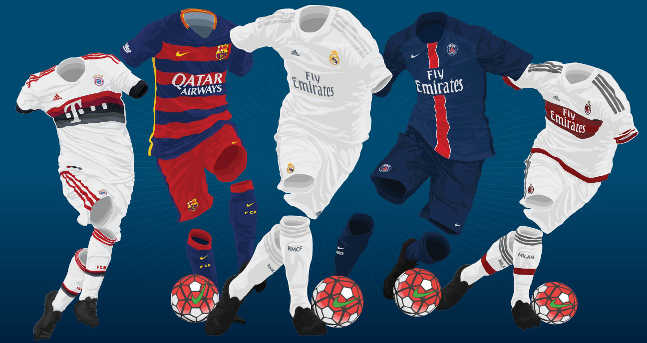 Image result for kits of football players