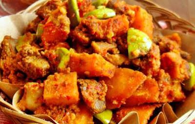 menu lebaran sambal goreng