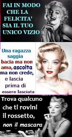 Risultati Immagini Per Frasi Celebri Di Marilyn Monroe Marilyn