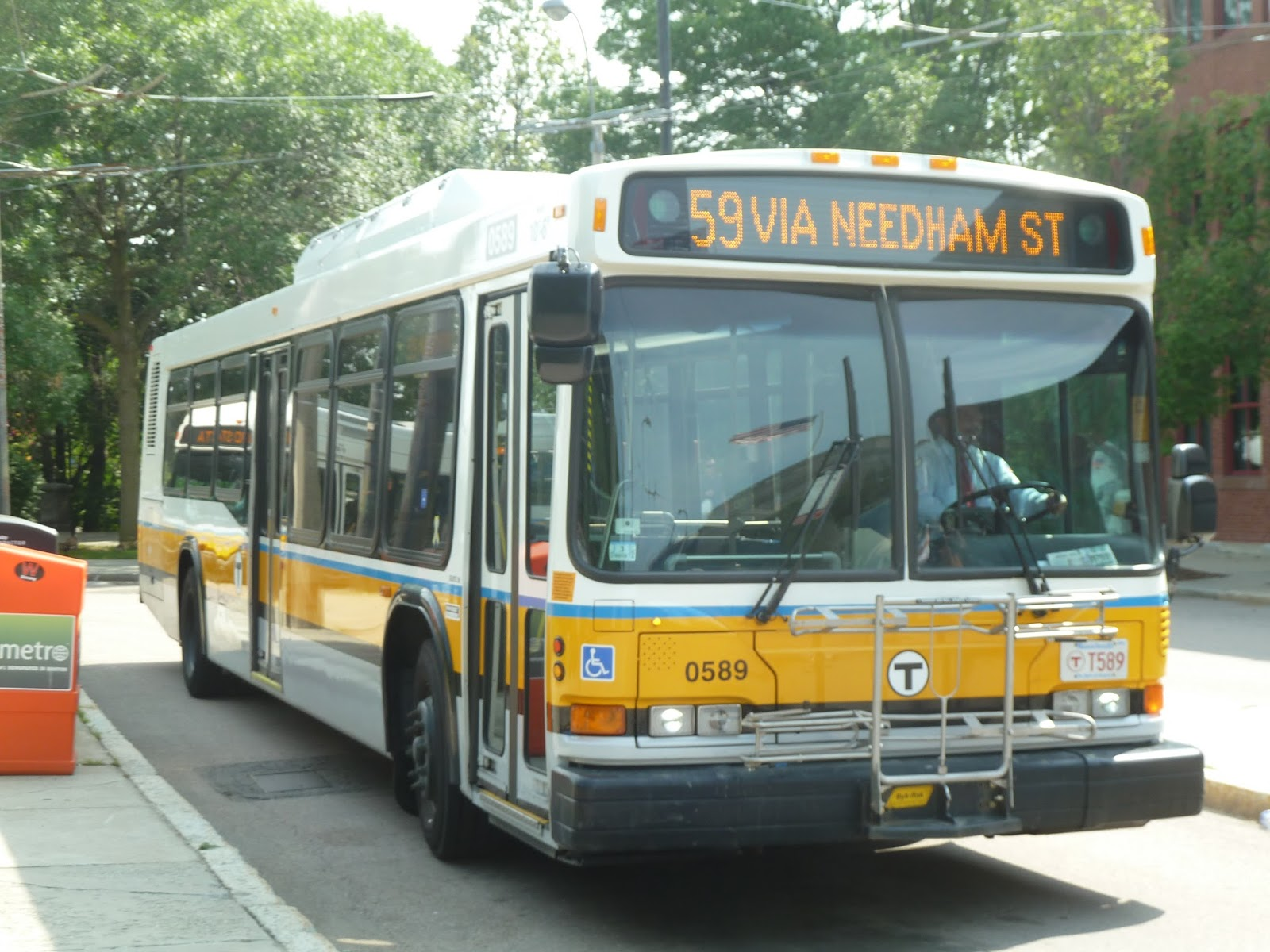 miles on the mbta: 59 (needham junction - watertown square via