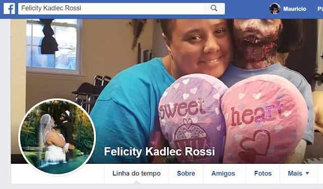 Tem Na Web - O casal mais estranho do Facebook ta chocando a galera